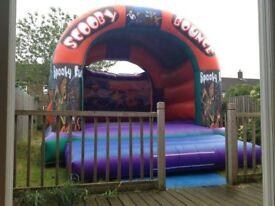 Scoobydoo bouncy castle