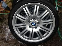 19 BMW M3 REPLICAS ,,NOT SPLIT RIMS AS NEW TYRES