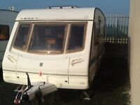 2003 abbey vogue GTS 415 fixed bed 4 berth