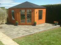 New 3.6x3.6 corner garden room summer house made to a very high quality