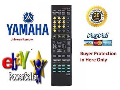 Remote Control For Yamaha AV A/V Receiver RAV283 WN058100 HTR-6130 RX-V363BL