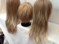 Unused wigs, shampoo