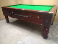 Fantastic Fully Refurbidhed 7x4 Ex Slate Pub Pool Table. Free Local Delivery & Free New Accessories