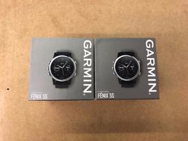 GARMIN FENIX 5S PREMIUM MULTISPORT GPS WATCH BRAND NEW SEALED WITH WARRANTY AND RECEIPT