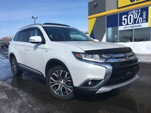 2016 MITSUBISHI OUTLANDER GT AWD TOIT OUVRANT CUIR MAGS DEMAREUR