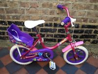 "Raleigh Bounce 12"" Girls Bike"