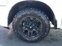Black Iron rims and Nitto Trail Grapplers for sale!