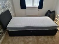 Reasonable Prices 👌🏻 👌🏻 New Divan Single Bed With Quality Mattress