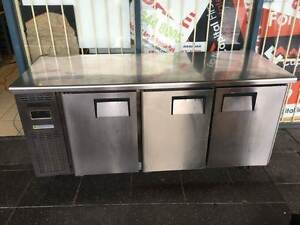 EVEREST B180C-3RRRS-E 3 Door Under Bench Fridge Sydney City Inner Sydney Preview
