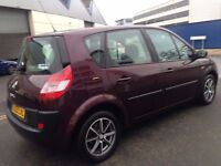 2003 REG RENAULT MEGANE SCENIC 1.5 DIESEL, CHEAP ROAD TAX AND LOW INSURANCE WITH 12 MONTH MOT.
