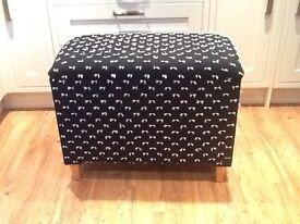 Ottoman/blanket storage box
