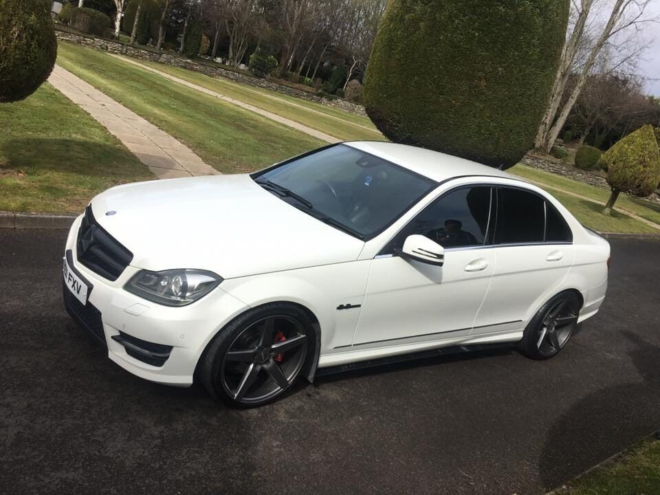 mercedes c220 amg sport c63 rep finance now in limavady county londonderry gumtree. Black Bedroom Furniture Sets. Home Design Ideas