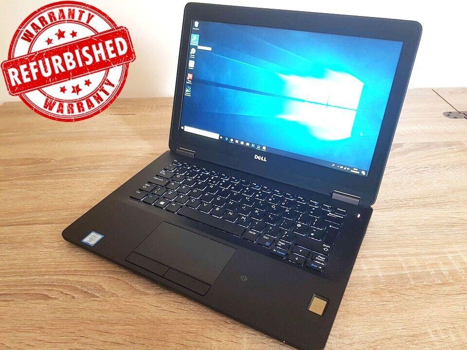 EXTREMELY QUICK: Dell Latitude 7270 i7-6600u 8gb DDR4 Ram 256gb NVMe SSD  IPS FHD Windows 10 Laptop  | in Thornliebank, Glasgow | Gumtree