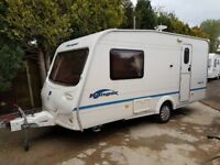 2007 Bailey Ranger 460/2 2 berth caravan Awning, VGC, light to tow, Bargain ! January Sale