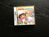 Nintendo DS Games ( Dora's Cooking Club )