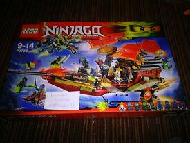 Lego Ninjago 70738 + 30422