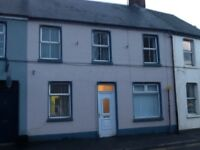TO LET 3 BEDROOM HOUSE IN DROMORE CO.DOWN TOWN CENTRE OFCH PVC WINDOWS DOOR,FURNISHED, REDECORATED