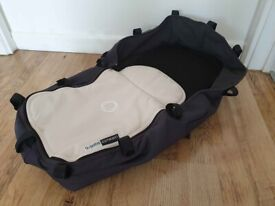 Bugaboo Cameleon Bassinet Carrycot Charcoal Grey / Two Black and Beige Aprons