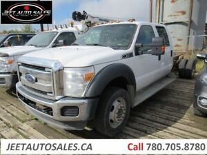 2012 Ford F-550 XLT 4X4 Cab & Chassis