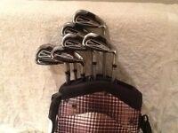 Cobra GS9 Men's Golf Club set of irons with bag - VERY GOOD CONDITION
