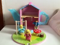 Lovely wooden teapot dolls' house