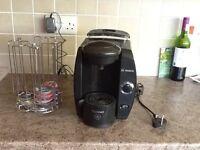 Bosch Tassimo coffee machine and coffee pod holder