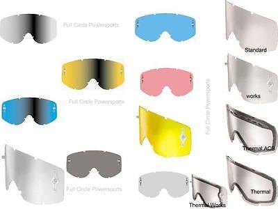 Scott Usa Goggle (Scott USA Hustle/Tyrant/Split Replacement Goggle Lens Motocross Snowmobile )