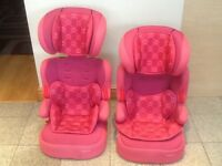 Group 2/3 full highback car booster seat for 15kg upto 36kg(4yrs to 12yrs) with reversible inserts