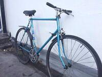 Beautiful, Vintage '70s Handmade English Carlton Bicycle Frame (spares n repairs)