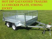 12x6 TANDEM HOT DIP GALVANISED TRAILER, GREAT QUALITY 2000kg Dandenong South Greater Dandenong Preview