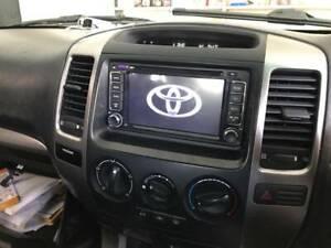 Toyota prado landcruiser prado car dvd GPS free reverse camera