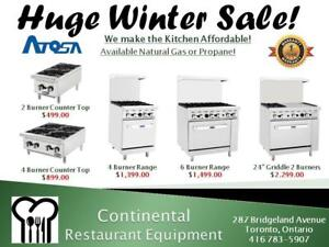 Restaurant Equipment Liquidation Sale! Amazing Prices! Huge Refrigeration Sale Real Warranty and Professional Service!