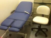 Treatment/therapy couch and stool for sale