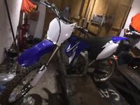 Yamaha yz 250 f 2008 mint (no issues) swap for road bike