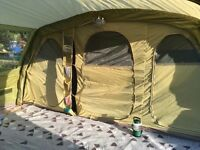 Vango Lumen 600XL Airbeam Tent including carpet and footprint - mint condition, as new