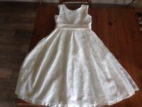 Worn once beautiful John Lewis ivory bridesmaid dress 12 years