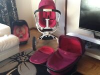 Quinny moodd passionate pink full travel set