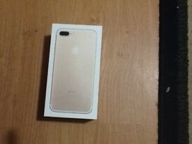 Hey, I'm selling Apple iPhone 7 plus 128 gb gold colour immaculate condition