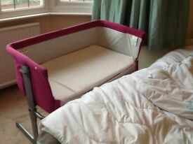 Cot - Barely used Next2Me Cot