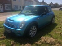 Mini Cooper s 53plate panoramic glass roof