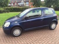 Toyota Yaris 1.0 Petrol Only 52,000 Genuine Milage! Only 2 Owners!