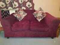 2 x Clara sofas