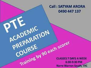 PTE ACADEMIC TRAINING FROM 90 EACH SCORER Melbourne Region Preview