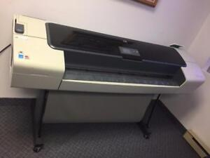 HP DESIGNJET T1100ps PLOTTERS - This plotter has been REFURBISHED.