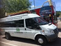 CHEAP MINIBUS & COACH HIRE WITH DRIVERS - Call Now For A Free Quote. Card Payments Accepted.
