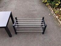 Ikea Dark Brown Table & Matching Shoe Rack!!!!