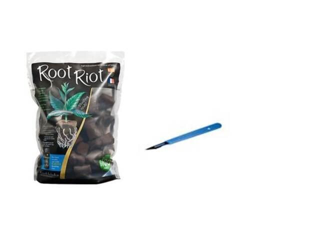 root riot 50 cubes refill bag & scalpel