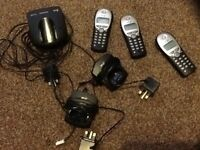BT DIVERSE 5210 3 TELEPHONE SYSTEM CORDLESS FULLY WORKING