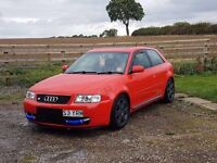 Audi S3 modified!!