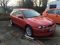 MG ZR, RED, GOOD FIRST CAR,FULL SERVICE HISTORY